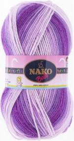 NAKO Bambino Matik Цвет 9075 нежно-сиреневый