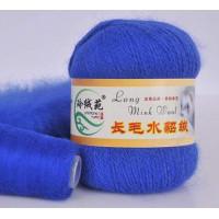 Mink wool 10 Норка длинноворсовая 10 василёк
