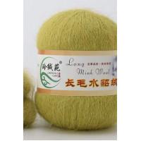 Mink wool 39 Норка длинноворсовая 39 липовый