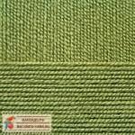 Пехорка Австралийский меринос Цвет 252 зеленый горошек