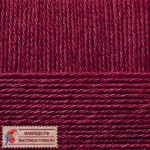 Пехорка Деревенская Цвет 323 темное бордо