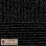 Пряжа для вязания Пехорка Детская новинка Цвет 02 черный