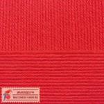 Пряжа для вязания Пехорка Детская новинка Цвет 06 красный