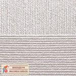 Пряжа для вязания Пехорка Детская новинка Цвет 08 светло-серый