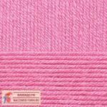 Пряжа для вязания Пехорка Детская новинка Цвет 11 ярко-розовый