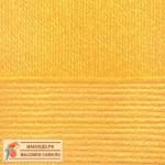 Пряжа для вязания Пехорка Детская новинка Цвет 12 желток