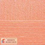 Пряжа для вязания Пехорка Детская новинка Цвет 18 персик