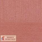 Пряжа для вязания Пехорка Детская новинка Цвет 21 брусника