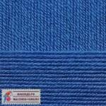 Пряжа для вязания Пехорка Детская новинка Цвет 26 василек