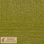 Пряжа для вязания Пехорка Детская новинка Цвет 33 золотистая олива