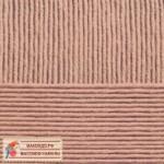 Пряжа для вязания Пехорка Детская новинка Цвет 165 темный бежевый