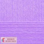 Пряжа для вязания Пехорка Детская новинка Цвет 179 фиалка