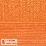 Пряжа для вязания Пехорка Детская новинка Цвет 284 оранжевый
