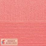 Пряжа для вязания Пехорка Детская новинка Цвет 351 светлый коралл