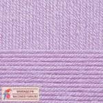 Пряжа для вязания Пехорка Детская новинка Цвет 389 светлая фиалка