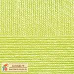Пряжа для вязания Пехорка Детская новинка Цвет 483 незрелый лимон