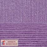 Пряжа для вязания Пехорка Детская новинка Цвет 567 темная фиалка