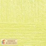 Пряжа для вязания Пехорка Детская новинка Цвет 725 солнечный