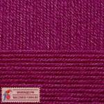Пряжа для вязания Пехорка Детская новинка Цвет 781 ягодный