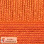 Пехорка Мериносовая Цвет 284 оранжевый