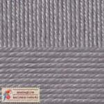 Пехорка Мериносовая Цвет 386 светлый серый меланж