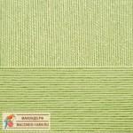 Пряжа для вязания Пехорка Успешная Цвет 09 зеленое яблоко