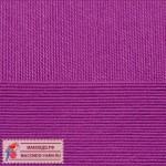 Пряжа для вязания Пехорка Успешная Цвет 87 темно-лиловый