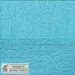Пряжа для вязания Пехорка Успешная Цвет 223 светлая бирюза