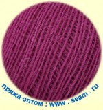 Seam Alpaca d'Italia Цвет 11 фиолетово-розовый