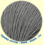 Seam Alpaca d'Italia Цвет 0501 теплый светло-серый