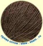 Seam Alpaca d'Italia Цвет 0612 средне-коричневый