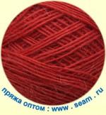 Seam Alpaca d'Italia Цвет 9999 терракотовый красный