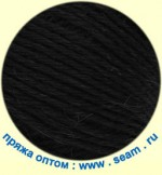 Пряжа для вязания Seam Alpaca Peruana (Сеам Альпака Перуана) Цвет 01 черный
