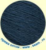 Пряжа для вязания Seam Alpaca Peruana (Сеам Альпака Перуана) Цвет 6669 глубокий синий с зелёным отливом