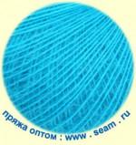 Seam Angora Fine Цвет 174540 яркая голубая бирюза