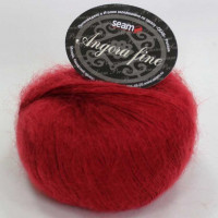 Seam 181658 Angora Fine 181658 красный