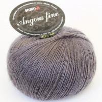 Seam 183905 Angora Fine 183905 темно-серый