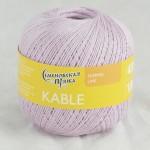 Пряжа для вязания Семеновская фабрика Kable (Кабле) Цвет 30220 астра х