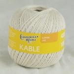 Пряжа для вязания Семеновская фабрика Kable (Кабле) Цвет 30674 льняной x