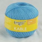 Пряжа для вязания Семеновская фабрика Kable (Кабле) Цвет 30955 гиацинт х