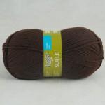 Семеновская фабрика Sufle (Суфле) Цвет 4443 темный шоколад