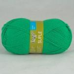 Семеновская фабрика Sufle (Суфле) Цвет 54067 ярко-зеленый NEW