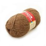 Пряжа для вязания Троицкая фабрика Верблюжья шерсть Цвет 2451 натуральный темный
