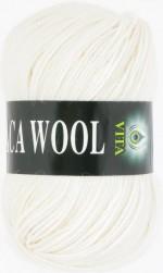 Пряжа для вязания Vita Alpaca Wool Цвет 2951 белый