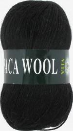Пряжа для вязания Vita Alpaca Wool Цвет 2952 черный