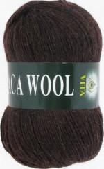 Пряжа для вязания Vita Alpaca Wool Цвет 2955 коричневый