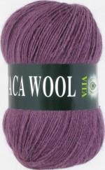 Пряжа для вязания Vita Alpaca Wool Цвет 2969 сливовый