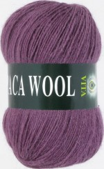 Vita Alpaca Wool Цвет 2969 сливовый