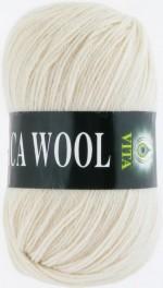 Пряжа для вязания Vita Alpaca Wool Цвет 2974 экрю