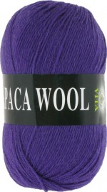 Пряжа для вязания Vita Alpaca Wool Цвет 2984 темно-сиреневый